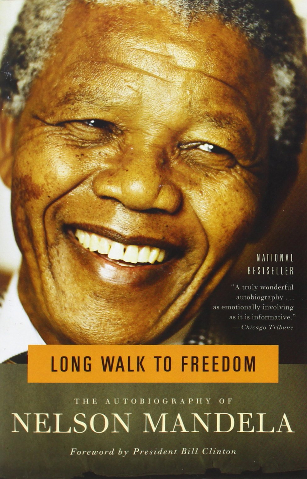 Long Walk to Freedom, Nelson Mandela
